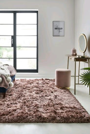 Next blush rug immaculate