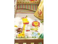 Jungle brights (Next) nursery set