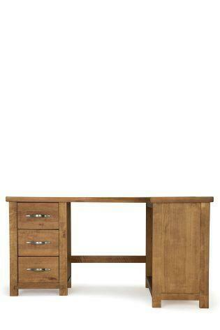 Next hartford solid pine corner desk in wandsworth london gumtree - Pine corner desks ...