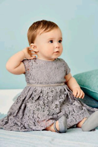 Two Next.uk lace dresses for 3-6 months baby girl