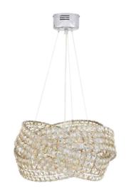 Next champagne mink 5 light chandelier
