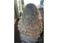 XMAS HAIR EXTENSIONS COVENTRY - micro links - bonds - weaves - la non plaited weft - micro links