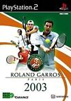 Roland Garros 2003 (Playstation 2)
