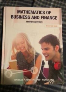 Loyalist College 1st Year Business Administration books.
