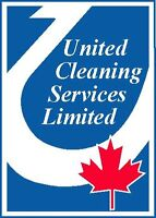 Subcontractor for cleaning in retail buisness