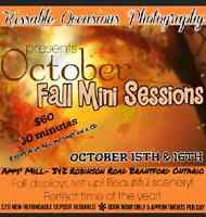 Kissable Occasions Photography presents Fall Mini Sessions