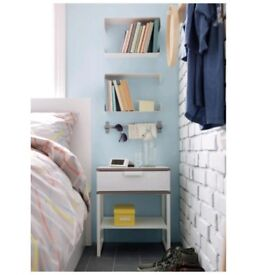2 x Ikea Trysil Bedside Table