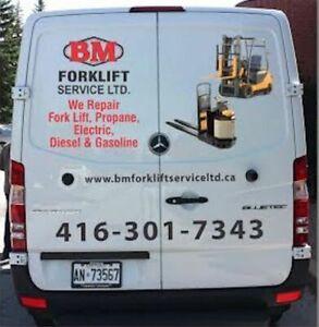 Forklift Rental - BM Forklift Service Ltd