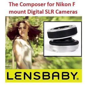 NEW OB LENSBABY THE COMPOSER LENS - 110801737 - Lensbaby The Composer for Nikon F mount Digital SLR Cameras
