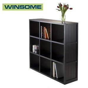 NEW WINSOME TIMOTHY 3X3 SHELF 3X3 WAINSCOTING PANEL - HOME FURNITURE 109272849