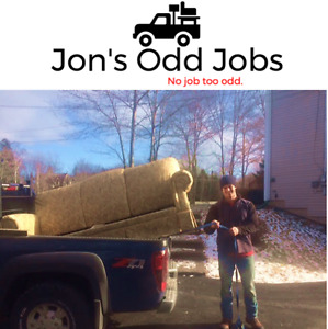 Truck for hire, Tree Removal, Lawn Care and More!