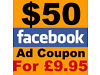 $50Facebook advertising voucher for £9.95 to promote ur web design business or any other business Birmingham City Centre