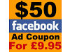 $50Facebook advertising voucher for £9.95 to promote ur business Birmingham City Centre