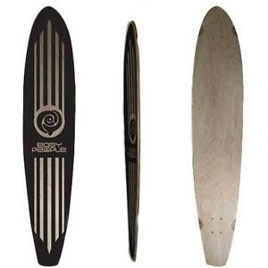 Easy People Longboards Double Drop Down Lowrider Drop Through Pintail Kicktail Natural Blank Longboard Decks Series