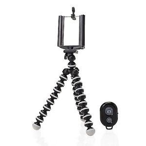 Cellphone Tripod Flexible Camera Photo with Remote