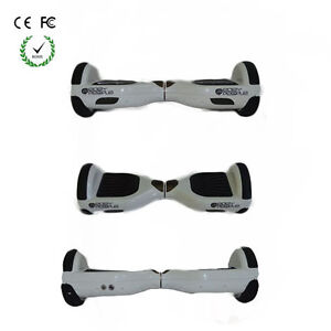 Easy People Hoverboards Two Wheel Self Balancing Scooter White/<