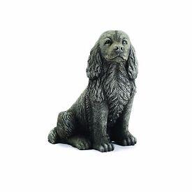 Stone Ornament Brandy Dog