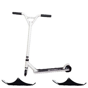 ^#Easy People Combo Stunt Scooter with wheels & snow ski kit