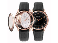 New Rotary Watch with Lifetime Dealer Warranty - Dual Face, Sapphire, Rose Gold