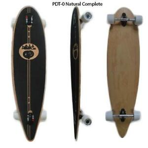 Easy People Longboards Drop Through Blank Natural Complete Longboard Series Trucks Wheels Bearings Grip Tape & More