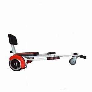 Easy People 2 Wheel Bluetooth + Speakers Motorized Scooter Red + Hovercraft