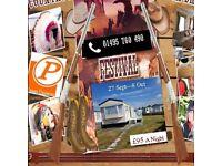 SEPTEMBER & OCTOBER ...Fun-Tastic Caravan Holiday on UNITY RESORT. Brean Sands