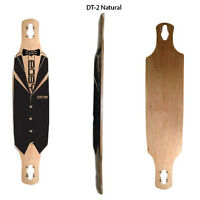 Easy People Longboards Natural Drop-Through Decks + Grip...,
