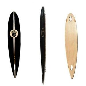 Easy People Longboards Double Drop Down Lowrider Drop Through Pintail Kicktail Natural Blank Longboard Decks Series
