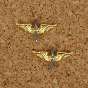 US Air Force Officers Branch of Service pin back badges