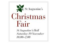 St Augustine's Christmas Fair at St Augustine's Chuch Hall, Norwich.