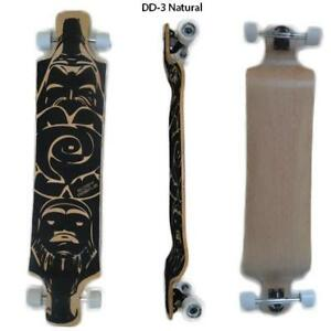 Easy People Longboards Double Drop Down / Lowrider Longboard Complete Series Trucks Wheels Bearings Grip Tape & More
