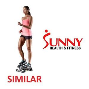 NEW* SHF SWIVEL STEPPER - 108205165 - SUNNY HEALTH  FITNESS DUAL ACTION STEPPER