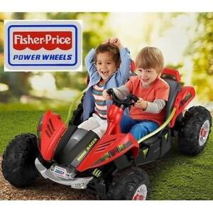 NEW POWER WHEELS DUNE RACER RIDE ON FFY09-9963 229966447 FISHER PRICE RED