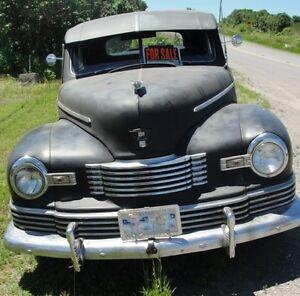 1947 Nash 600 coupe hotrod ratrod