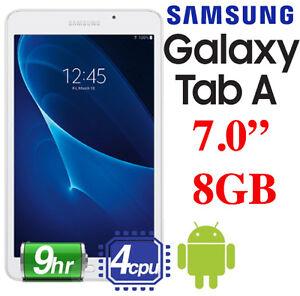 """NEW SAMSUNG GALAXY TAB A 7"""" 8GB WIFI TABLET"""
