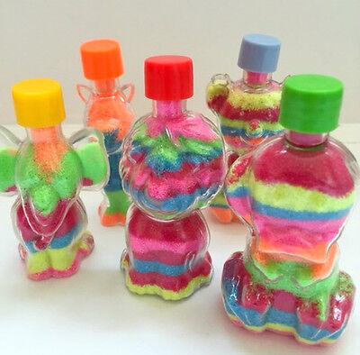 Coloured Sand Art In Bottle