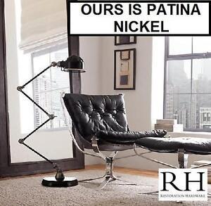 NEW RH ATELIER TASK FLOOR LAMP - 123684259 - PATINA NICKEL