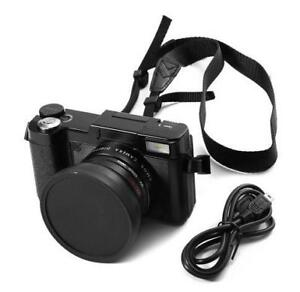 Professional Digital Camera  24MP// 4x Zoom // Macro Wide Angle Lens // 1080P Digital Video Camcorder
