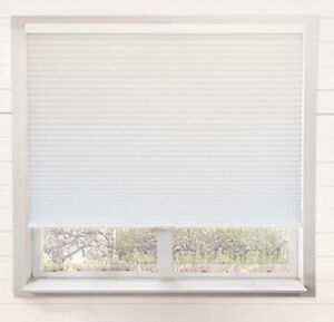 Honeycomb cordless cellular shades Fabric, 117cm x 122cm, Mist