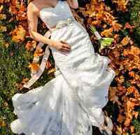 "Maggie Sottero Wedding Dress ""Lavina"" - Size 8 - $850"