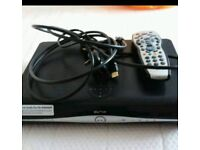 Sky box with built in wifi and remote control