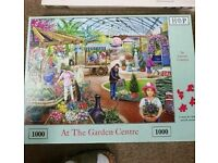 1000 piece jigsaw entitled At The Garden Centre