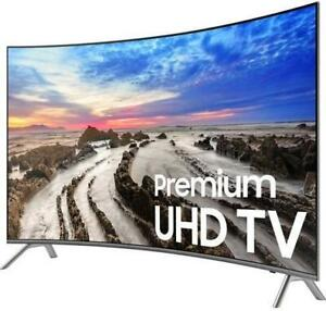 SAMSUNG 55 LED 4K HDR PREMIUM CURVED SMART UHDTV *NEW IN BOX*