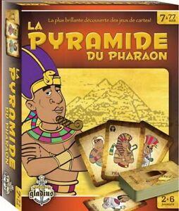 Jeux de société:  LA PYRAMIDE DU PHARAON
