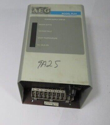 Aeg 110-0108 Model Pls-4 Brushless Servo Power Supply Used