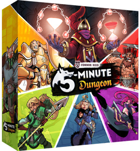 5-Minute Dungeon board game