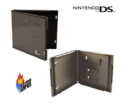 New Nintendo DS Replacement Retail Game Cartridge Case (Black)