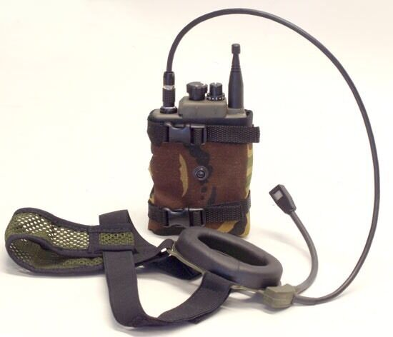 Selex Marconi H4855 Prr Personal Role Radio With Mtp Pouch