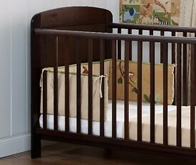 The Grace Cot Bed when baby grows it can be converted into a junior bed.needs mattress 140x70cm