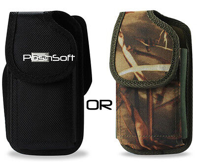 - Ballistic Nylon Carry Case for HUAWEI phones. Holster Pouch + Belt-Clip, RUGGED